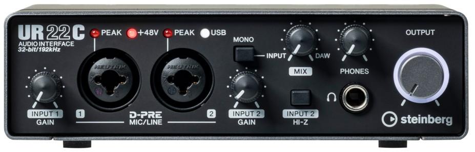 L'interface audio Steinberg UR22C
