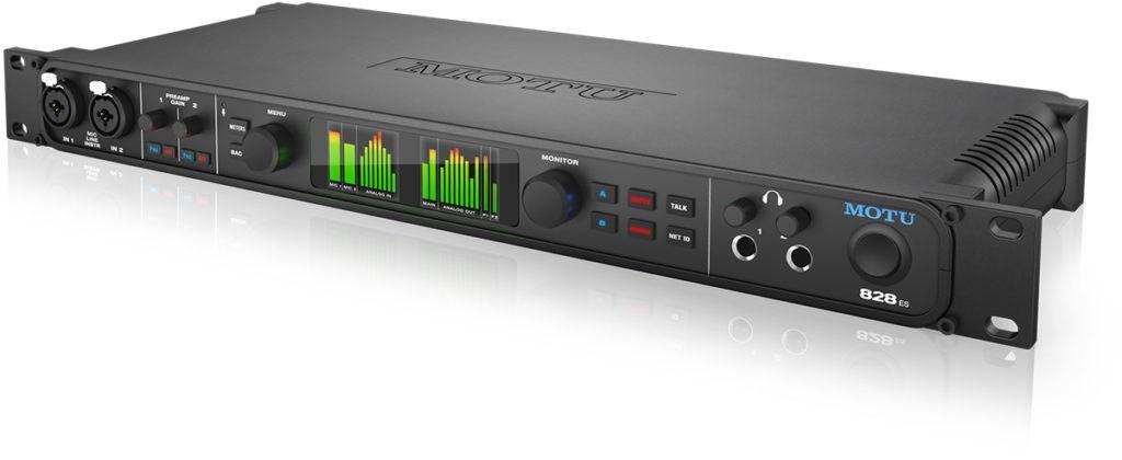 L'interface audio MOTU 828es