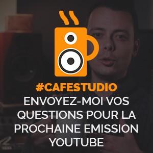 Envoyez vos questions pour Caféstudio