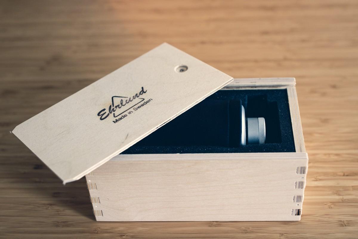 L'EHR-M d'Ehrlund dans sa boîte