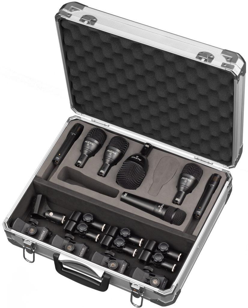 Le kit de microphones pour batterie Audix FP7