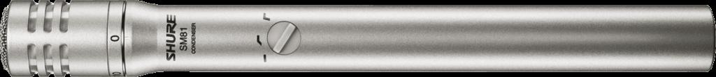 Le microphone pour charleston Shure SM81