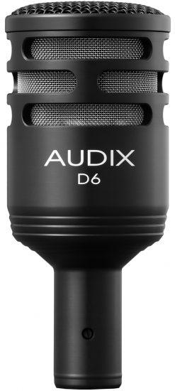 Le microphone pour grosse caisse Audix D6