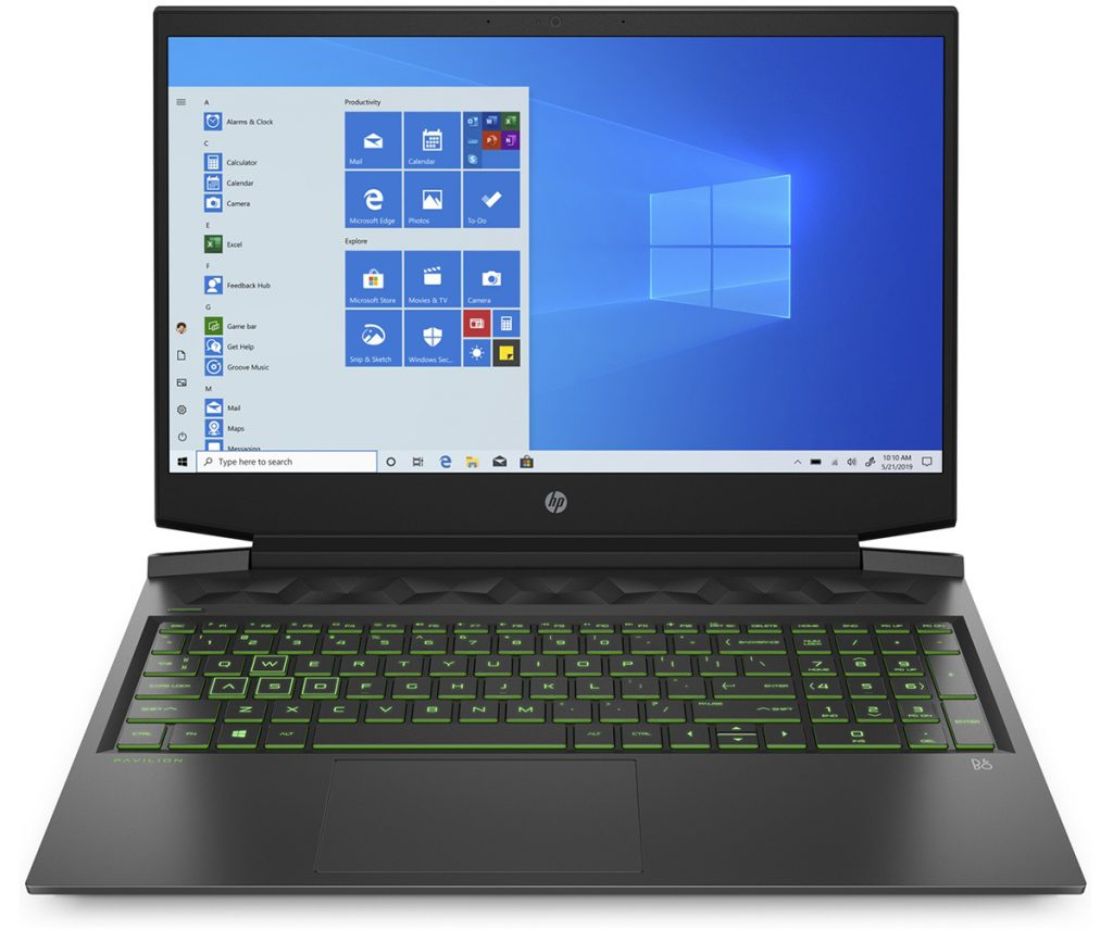 L'ordinateur portable HP Gaming Pavilion pour le home studio