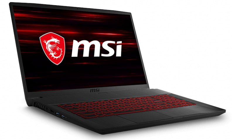 L'ordinateur portable MSI GF75 Thin pour le home studio