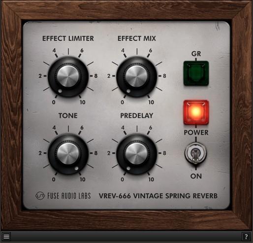 Le plugin gratuit de réverbe VREV-666