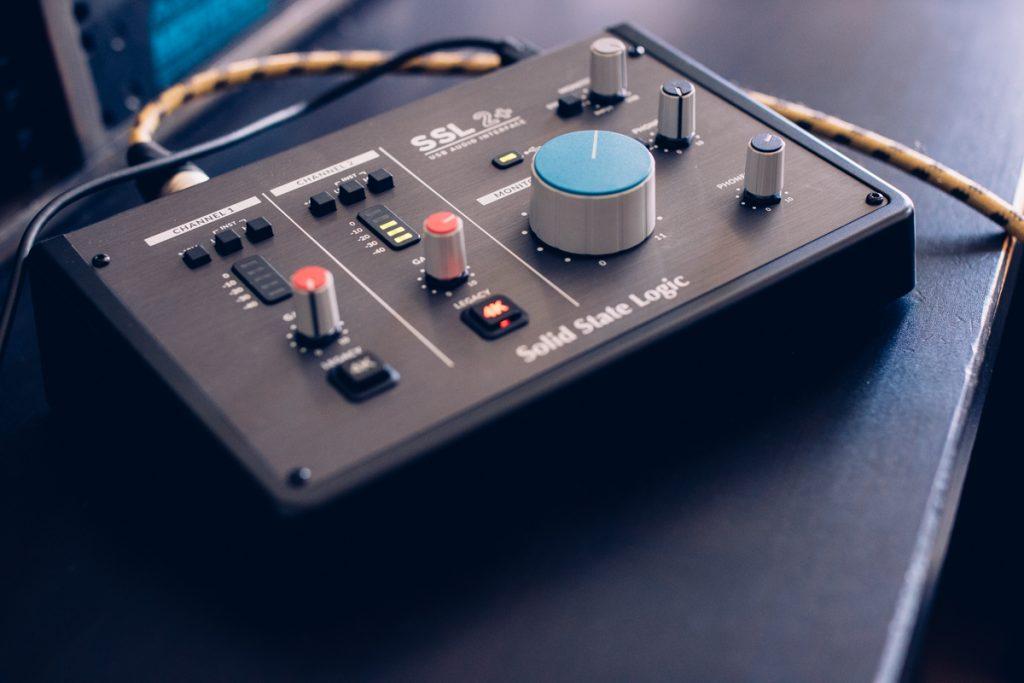 L'interface audio SSL 2+ de Solid State Logic
